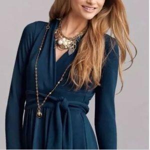 CAbi cozy wrap dress